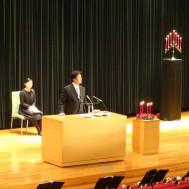 岩田牧師による説教